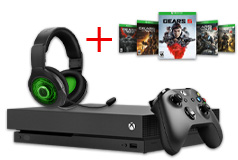 Xbox One X Gears 5 & PDP AG9+ Wireless Headset Bundle - Click for more details