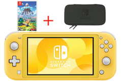 Nintendo Switch Lite Gaming Bundle - Yellow