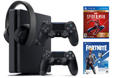 PlayStation 4 Slim 1TB Neo Versa Gaming Bundle - Click for more details