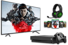 "Samsung 58"" 4K Smart TV & Xbox One X Gears 5 1TB Bundle - Click for more details"