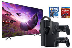 "Samsung 58"" 4K Smart TV & PS4 Slim 1TB Bundle - Click for more details"