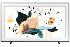 "Samsung 55"" The Frame 4K Smart TV. TV when it's on, art when it's off. - Click for more details"