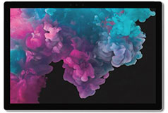 "Microsoft Surface Pro 6 12.3"" i7 - Platinum (i7-8650U/8GB RAM/256GB SSD/Win 10 Pro) - Click for more details"