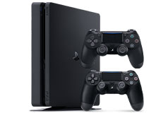 PlayStation 4 Slim 1TB Gaming Bundle - Click for more details