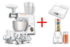 Sencor 3700WH Stand Mixer, Smoothie Maker & Kitchen Scale Bundle - Click for more details