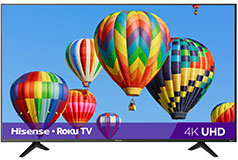 "Hisense 43"" Class R6 Roku 4K Smart TV - Click for more details"