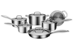 Cuisinart 11pc Professional Series Five Ply Cookware Set - Click for more details