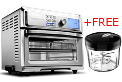 Cuisinart Digital AirFryer Toaster Oven & FREE Mini Food Processor