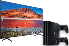 "NEW Samsung 55"" TU7000 Crystal UHD 4K Smart TV 2020 Model & PS4 Pro Bundle - Click for more details"