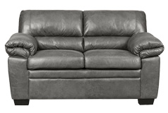 Jamieson Loveseat in Pewter - Click for more details
