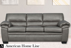 Jamieson Luxury Sofa in Pewter - Click for more details