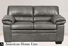 Jamieson Luxury Loveseat in Pewter - Click for more details