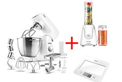 Sencor 40WH Stand Mixer, Smoothie Maker & Kitchen Scale Bundle - Click for more details