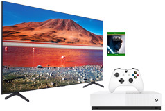 "Samsung 58"" TU7000 Crystal UHD 4K Smart TV & Xbox One S 1TB Star Wars Jedi: Fallen Order - Click for more details"