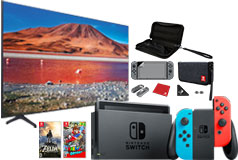 "NEW Samsung 58"" TU7000 Crystal UHD 4K Smart TV & Nintendo Switch Super Mario Bundle - Click for more details"