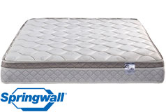 "Ruby 9.5"" Eurotop Plush Continuous Coil Queen Mattress - Click for more details"