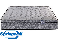 "Pearl 12"" Eurotop Luxury Firm Pocket Coil Full Mattress - Click for more details"