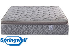 "Diamond 13"" Pillowtop Plush Pocket Coil Queen Mattress - Click for more details"