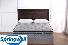 "Pearl 12"" Eurotop Luxury Firm Pocket Coil King Mattress & Boxspring"
