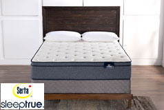 "Colette 11.5"" Eurotop Plush Pocket Coil Queen Mattress & Boxspring"
