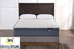 "Bethanee 11.5"" Eurotop Plush Pocket Coil Queen Mattress & Queen Boxspring - Click for more details"