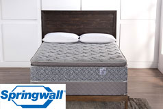 "Diamond 13"" Pillowtop Plush Pocket Coil Queen Mattress & Queen Boxspring - Click for more details"