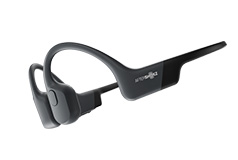 AfterShokz Aeropex Bone Conduction Bluetooth Headphones - Cosmic Black - Click for more details