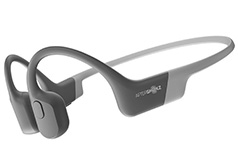 AfterShokz Aeropex Bone Conduction Bluetooth Headphones - Lunar Grey - Click for more details