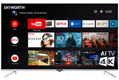 "Skyworth 55"" Q20200 4K UHD Smart TV - Click for more details"