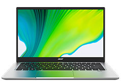 "Acer Swift 1 N4120 14"" Laptop (ICQ N4120/4GB DDR4/64GB eMMC/Win 10) - Click for more details"