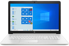 "HP 17.3"" N5030 Laptop (Intel Pentium Silver N5030/8GB DDR4/1TB HDD/Win 10) - Click for more details"