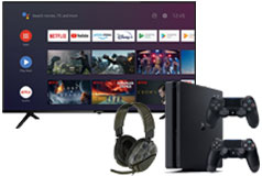 "Skyworth 65"" UC6200 4K UHD Smart TV & PS4 Slim Bundle - Click for more details"