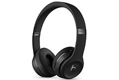 Beats Solo3 On-Ear Wireless Headphones with Carrying Case - Matte Black - Click for more details