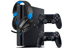 PlayStation 4 Slim 1TB & Turtle Beach Recon 70 Headset Gaming Bundle - Click for more details