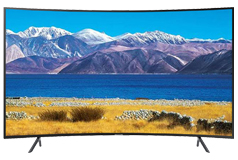 "Samsung 55"" TU8300 UHD 4K Curved Smart TV - Click for more details"