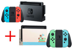 Bundle of 2: Nintendo Switch & Nintendo Switch Animal Crossing Limited Special Edition - Click for more details