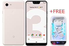 Google Pixel 3XL - Not Pink (Neutral taupe) + FREE BioPure XL UVC Light Cleansing Tray - Click for more details