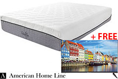"The Supreme Hybrid Queen 13"" Mattress + FREE Bolva 32'' HD LED TV"