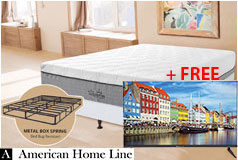 "The Supreme Hybrid 13"" King Mattress 2-in-1 Bed & Box Spring + FREE Bolva 32"" HD LED TV - Click for more details"