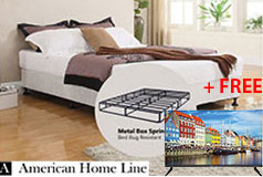 "Sleep Rest 13"" King Mattress 2-in-1 Bed & Box Spring + FREE Bolva 32"" TV - Click for more details"