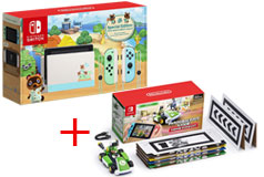 Nintendo Switch Limited Special Edition + Luigi Set Mario Kart Live: Home Circuit™ - Click for more details