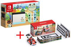 Nintendo Switch Limited Special Edition + Mario Set Mario Kart Live: Home Circuit™ - Click for more details