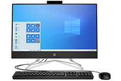 "HP All-in-One Deep Burgundy 23.8"" Desktop (AMD 3150U/8GB/1TB/Win 10 Home) - Click for more details"