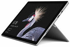 "Microsoft Surface Pro 5th Gen LTE 12.3"" 256GB - Silver (i5-7300U/8GB/256GB/Win 10 Pro) - Click for more details"