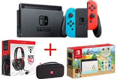 Nintendo Switch BOGO Bundle, Deluxe Travel Case & Recon 50 Headset - Click for more details