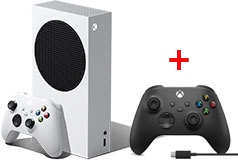 Xbox Series S 512 GB Gaming Console + Xbox Wireless Controller w/ USB Type-C Cable - Click for more details