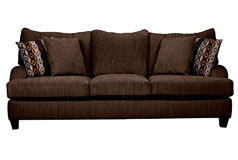 "Alexa<span style=""background-color: #ffffff; text-decoration-style: initial; text-decoration-color: initial;""> Chenille Sofa  in Chocolate  - Click for more details"