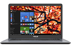 Portable Asus X705 17.3 po  (Intel Core i5/8Go RAM/1To HDD/Win 10)
