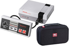 Nintendo NES Classic Edition with Nintendo Deluxe Travel Case for NES Classic/SNES Classic Bundle - Cliquez pour plus de détails