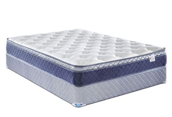 Foam Core Mattress Set - Twin